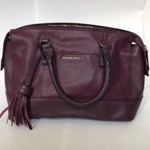 Burgundy Tignanello bag